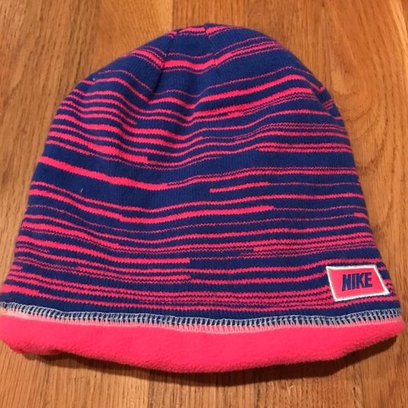 Nike Other - Girls fleece-lined Nike hat